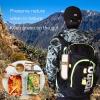 Eco Vriendelijke Houten Bestek Herbruikbare Reizen Gebruiksvoorwerp Met Draagbare Camping Gebruiksvoorwerpen Zak Nul Afval Lepel Vork Mes Bestek Set 5