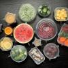 6 Stks/set Eco Siliconen Deksels Keuken Universele Elastische Siliconen Voedsel Deksel Herbruikbare Siliconen Covers Voedsel Verse Wrap Stretch Cap 4