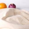 Greeon Eco-vriendelijke Biologisch Katoen Mesh Doek Tas Groente Fruit Shopping Tote Herbruikbare Nul Afval Produceren Opbergtas Wasbare 3