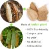 2 Stuks Eco Vriendelijke Natuurlijke Loofah Keuken Spons Multilayer Organische Plantaardige Scrubber Anti-Olie Schotel Kom Pot Schoonmaken Scrub pad 1